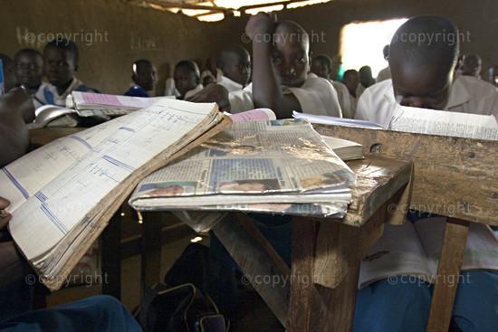Free Primary School Education.  Sagam, Nyanza Province, Western