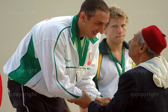2006/09/12. 8th African Swimming Championships.