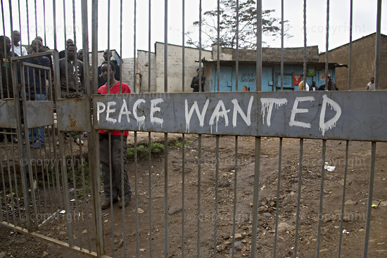 Post-Election Upheaval in Kenya - January 2008.