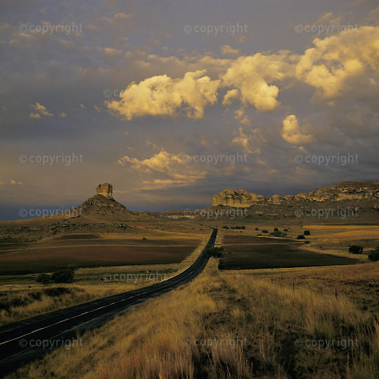 CLARENS, FREE STATE, SOUTH AFRICA