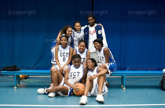 UCT Woman's Basketball Team