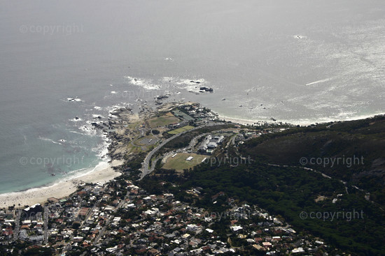 Camps Bay, Maiden's Cove and Clifton Beach