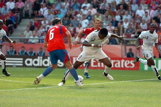 2006/06/17. FIFA World Cup 2006: Ghana - Czech Republic (2-0).