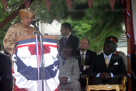2006/07/26. Liberia marks 159th anniversary of independence.