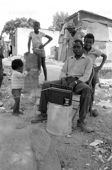 Apartheid Land Removals, Radio