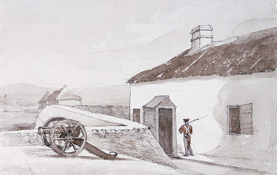 Fort Brown near Grahamstown on the Western Bank of the Great Fish River, 1835-1839