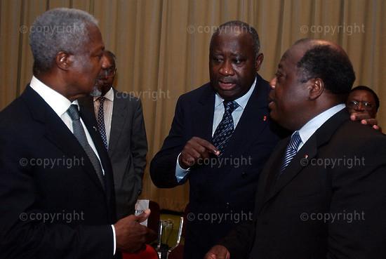 2006/07/05. Mini-summit Cote d'Ivoire opens in Yamoussoukro.