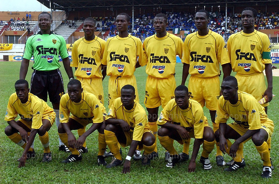 2006/08/13. African Football Champions League's: ASEC of Abidjan - Enyimba of Nigeria (3-0).