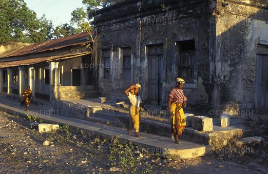 Streetscene, Ibo Island, Mozambique