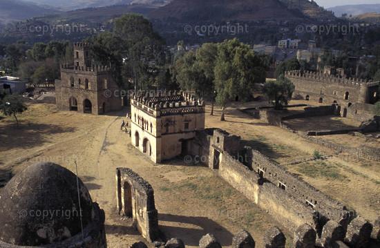 Fasil Ghebbi (Royal Enclosure), Gondar, Ethiopia2
