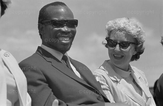 Mr. Seretse Khama and His Wife