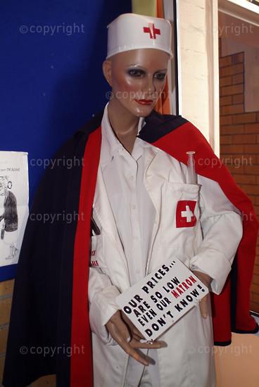 Nurse mannequin