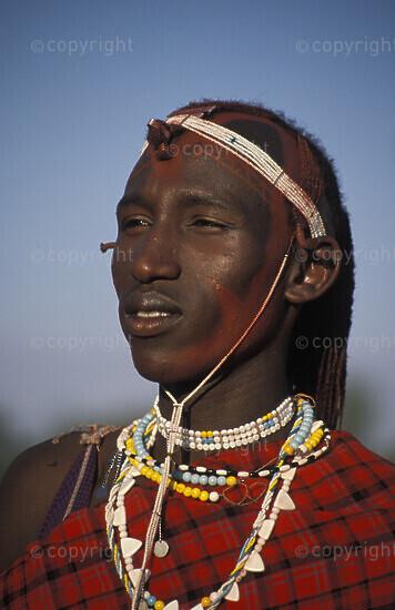 Maasai warrior, Longido, Tanzania2