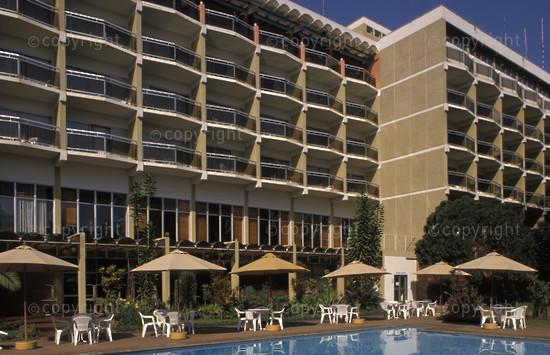 Hotel des Milles Collines, Kigali, Rwanda