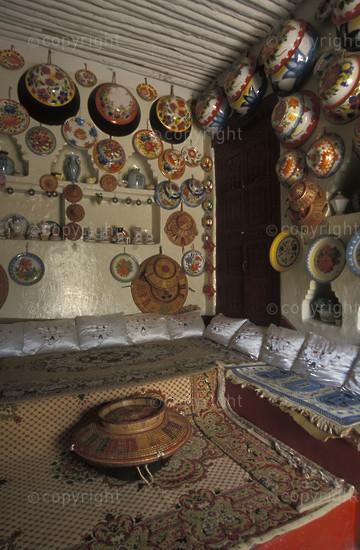 Harari home with Harer baskets, Harer, Ethiopia2