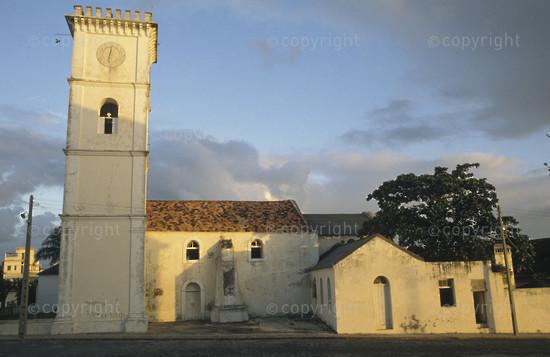 18th century cathedral, Inhambane, Mozambique