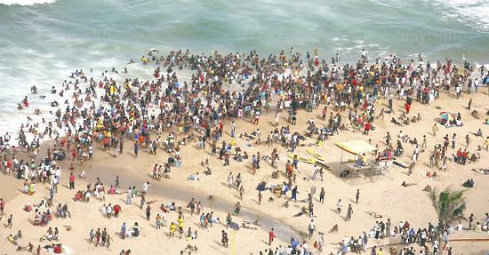 S-AFRICA-DURBAN_BEACHES
