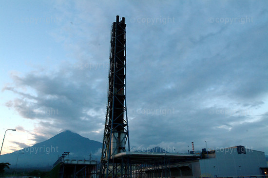 2006/06/10. New thermal station in Limbe.